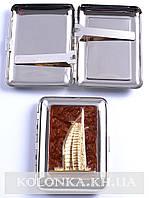 Портсигар на 18 сигарет Здание Парус №2439-6