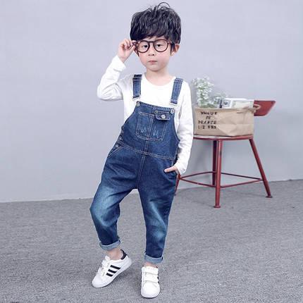 Комбинезон джинсовый на мальчика, фото 2