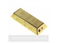 Зажигалка Золотой слиток пьезо, газ №1604