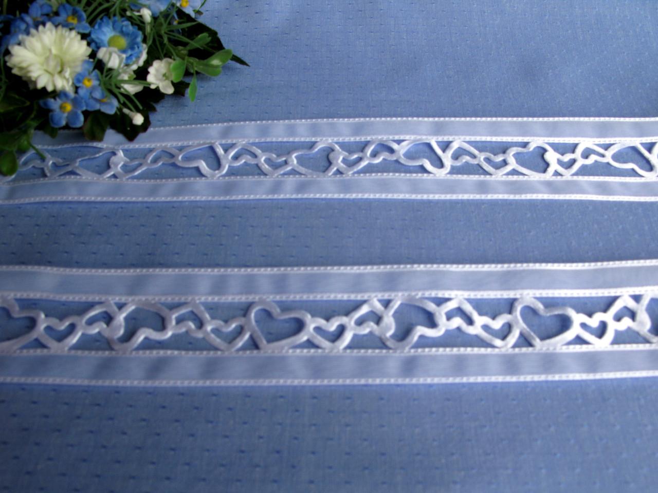 Лента ажурная белая 4 см цена за метр 12 грн метр