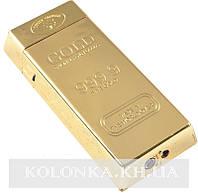 Зажигалка карманная слиток золота №4147