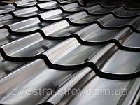 Металлочерепица Монтеррей 0,5мм глянцевый полиэстр, Словакия US Steel Kosice