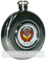 Фляга солдатская СССР из пищевой нержавеющей стали MN-A