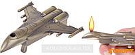 Зажигалка Истребитель, пьезо, газ №4411-1