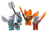Конструктор LEGO серия Lego Legends Of Chima Набор минифигурок «Огонь и лёд» 850913