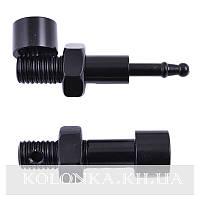 Трубка для курения Болт (черный) №4683