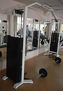 Кроссовер тренажер, двойная блочная рама (2*120 кг), фото 3