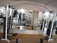 Кроссовер тренажер, двойная блочная рама (2*120 кг), фото 4
