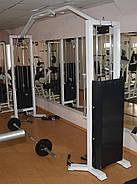 Кроссовер тренажер, двойная блочная рама (2*120 кг), фото 5