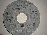 """Круг шлифовальный ПП 250х40х76 64С (Зелёный) """"ЗАК"""", фото 1"""
