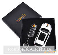Подарочный набор 2в1 Сувенирная зажигалка + зажигалка-брелок Porsche Cayenne №4426-2