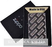 Зажигалка бензиновая Zippo в подарочной упаковке №4727-2