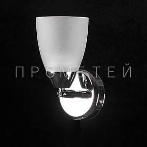 Бра спот на 1 лампочку. P3-01615/1W/CR+WT