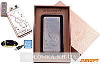 Электроимпульсная зажигалка BONDN Music (USB) №4770-1