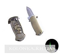 Зажигалка карманная с ножом Пиратский корабль №4585-3