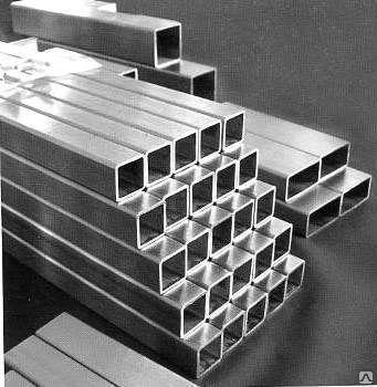 Труба  алюминиевая квадратная  25 х 1.5 мм