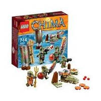 Конструктор LEGO серия Lego Legends Of Chima 70231 Клан Крокодилов