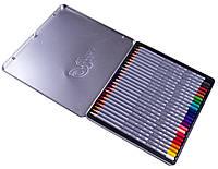 Набор цветных карандашей 24 цв. в метал.пенале, RAFFINE 7100-24TN, Marco