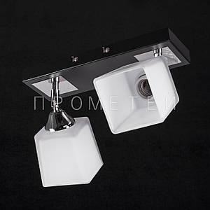 Припотолочная люстра спот (направляемая) на две лампочки P3-11665/2BC/BK+CR+MK