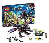 Конструктор LEGO серия Lego Legends Of Chima Похититель Чи Ворона Разара 70012