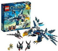 Конструктор LEGO серия Lego Legends Of Chima 70003 ПЕРЕХВАТЧИК ОРЛИЦЫ ЭРИС