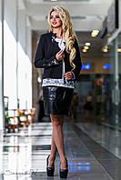 Красивый очаровательный женский жакет 2308 черный