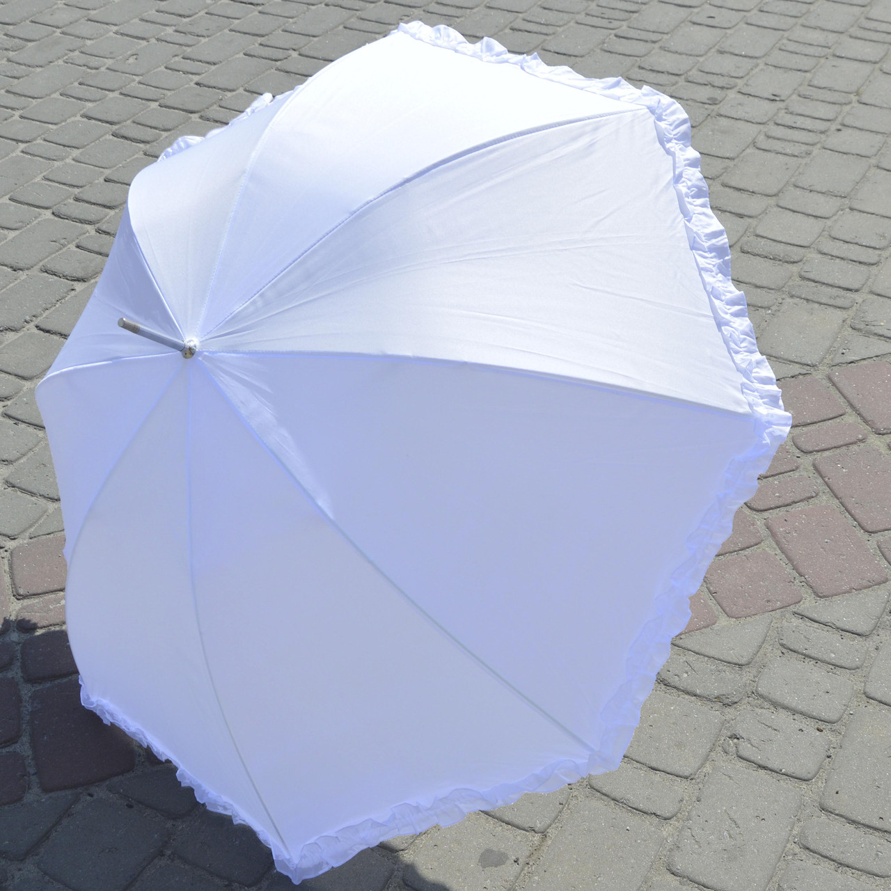Зонтик Белоснежный