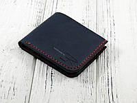 Кожаное портмоне ручной работы Blue KR 5