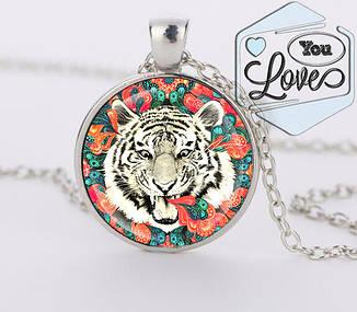 Кулон Белый тигр