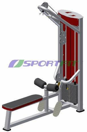 """Блочний тренажер """"верхня тяга, нижня тяга"""" (стек 120 кг)"""