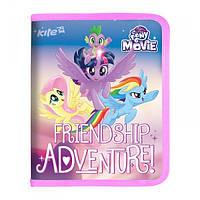 Папка для зошитів на блискавці, B5 My Little Pony Kite LP17-203