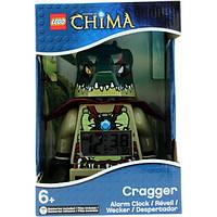 Детский будильник LEGO Legends of Chima Cragger