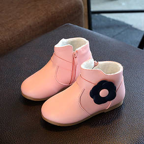 Ботинки для девочки цветочек, фото 2