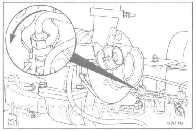 Ключи 8 мм, 17 мм, 19 мм  ПРИМЕЧАНИЕ:Если требуется заменить отдельные топливопроводы, то нужно снять прижим соответствующей группы топливопроводов, в котором находится топливопровод, подлежащий замене.  Отсоедините топливопровод (ы) от форсунок