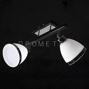 Припотолочная люстра спот (направляемая) на две лампочки P3-26402/2C/BK+CR+MK