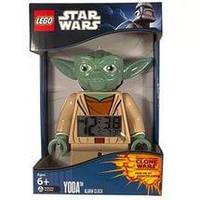 Детский будильник Лего Звездные войны Йода Lego Star Wars Yoda
