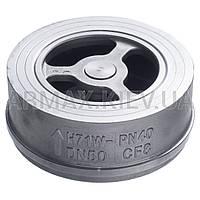 Клапан обратный межфланцевый дисковый нерж.