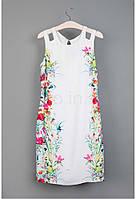 Платье белое летнее Waggon Paris