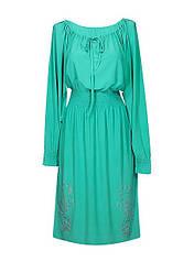 Платье на резинке с вырезом Элегия
