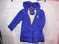 Детская куртка с капюшоном ЗИМА овчина рост 92-116