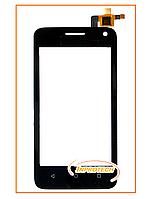 Сенсор (тачскрин) для Huawei Ascend Y3C, Y336, Y360 Black Original