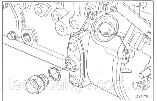 Ключ 24 мм  Выверните колпачковую гайку.