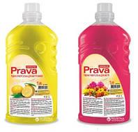 Универсальное жидкое чистящее средство PRAVA (1 л) ЦВЕТЫ