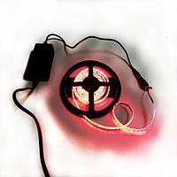 Комплект LED лента 3528 IP65 красная блок питания коннектор