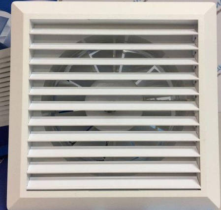 Вентилятор HARDI 100 (механические жалюзи + провод), фото 2