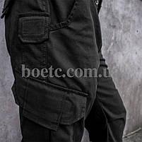 Брюки тактические (ANTITERROR) Black, фото 5