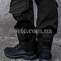 Брюки тактические (ANTITERROR) Black, фото 7