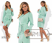 Модное женское платье большого размера у-t151588