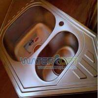 Мойка для кухни угловая Haiba 100*50 Декор