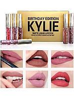 Набор матовых помад Kylie Birthday Edition №1.